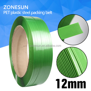 Green PET Steel Strap, PET Strapping Tape, PET Packing Stap for 12mm