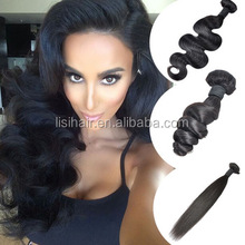 Thick Bottom!Top Sale Can Be Dyed Can Be Bleached Best Price Black Girl Hair Extensions