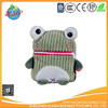 custom plush frog coin purse