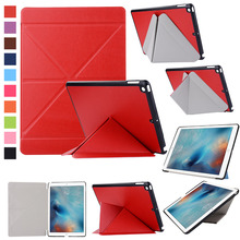 Ultra Slim Leather Case Stand Cover for new iPad 9.7 2017 9.7 inch Tablet PC Case