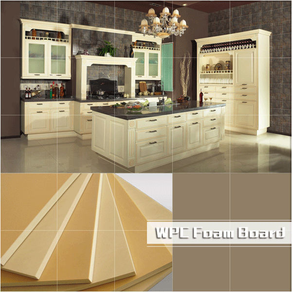 Wpc Foam Board Wpc Furniture Board Waterproof Kitchen