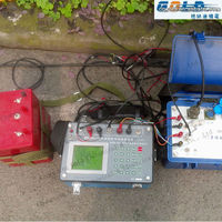 Resistivity meter for underground water detector