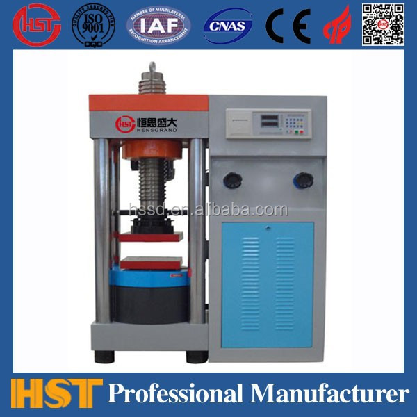 YES-3000D Construction materials compression strength testing equipment