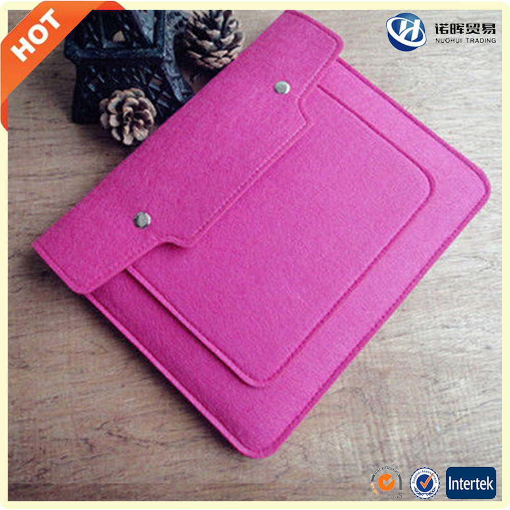 wholesale amazon best 10 12 13.3 15 17 15.6 inch leather felt tablet laptop sleeve bag for women girls