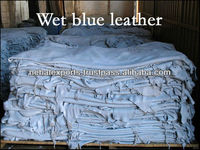 cow wet blue leather