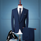 custom business cashmere wool mens suit