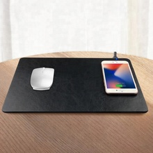 Qi Wireless Charging Mouse Pad Wireless Charger Mouse Pad Charger for Samsung Galaxy A8 J5 Oppo