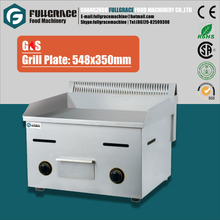 popualr for hotel and western restaurant commercial stainless steel flat plate gas teppanyaki grill