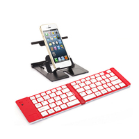 2016 new product wireless keyboard Aluminum Case Mini Bluetooth Keyboard For iPad 5 Air Keyboard/ipad air keyboard