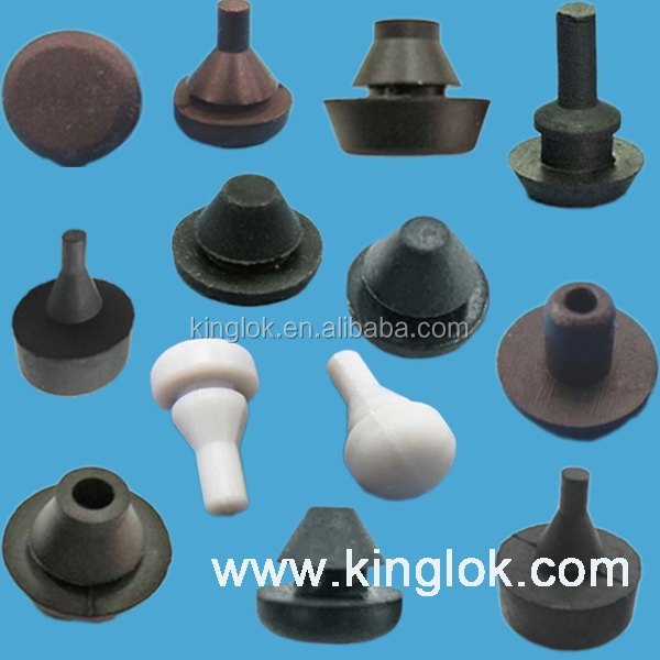 rubber hole plug Feet Damper Conical Buffer EPDM / SBR/ NR non slip rubber feet Rubber Push-In Bumpers Pull Silicone Feet