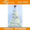 Tsingbuy high quality professional customized wedding dummy cake / fake birthday cake for window display