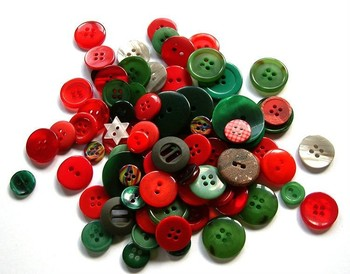 Mixed buttons/mixed buttons for scrapbooking