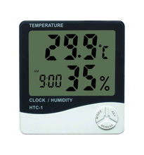 household wireless digital thermometer/hygrometer/alarm clock