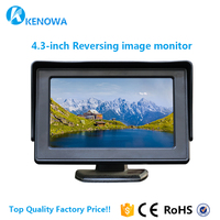 4.3 inch wholesale TFT LCD Car Mirror Reverse Sale Image Rear View Monitor with AV input