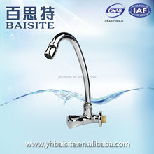 Wholesale polished chrome abs sink faucets single level kitchen water tap