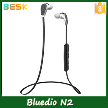 Original Bluedio N2 Bluetooth Headset Sport In-Ear Earphone Headphone Wireless Stereo Fone De Ouvido Bluetooth 4.1