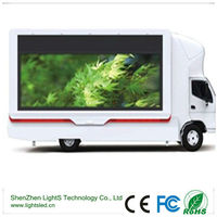 p8 mobile truck led moving message display manufacture/moving signs for sale