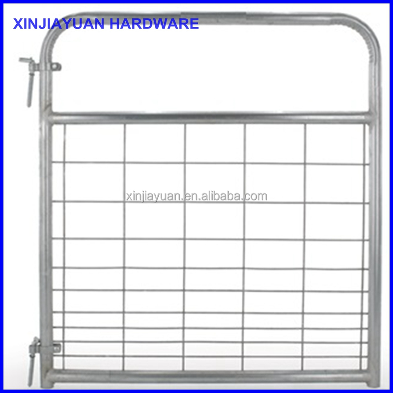 good quality galvanized wire metal fence panels 4ft hot sale
