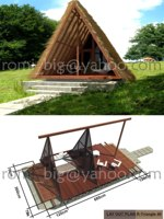 R-Triangle 40 Wooden House
