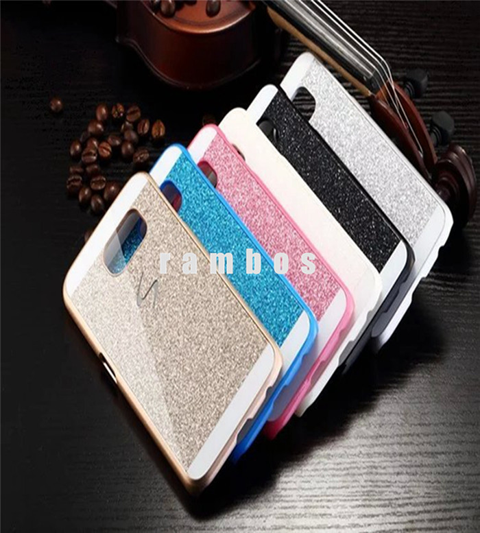 Luxury Bling Bling Shiny Hard Plastic PC Phone Cases Protective Cover for Samsung Galaxy S3 i9300