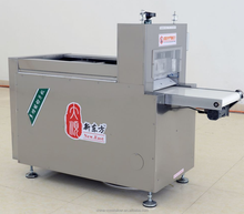 halal frozen goat meat cutting machine/mutton roll slicer machine/full automatic meat slicer