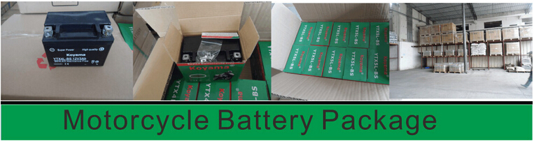 Good price 12v motorcycle battery YTX7A-BS-MF