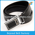 Beyond 35mm Wide High Quality Genuine Leather Ratchet Belt with Sliding Buckle for Men