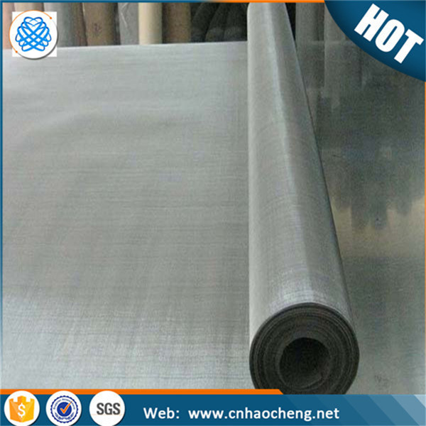 Plain weave pure nickel wire mesh for the cathode of electrolyzers