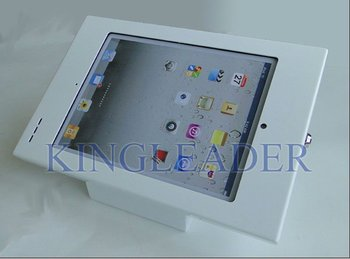 Tamper-proof desktop iPad 2 kiosk enclosure