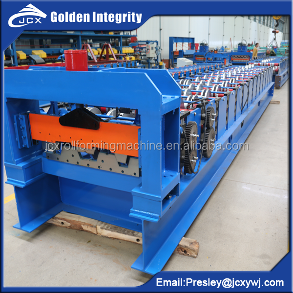 688 720 Metal Floor Decking Roll Forming Production Machine