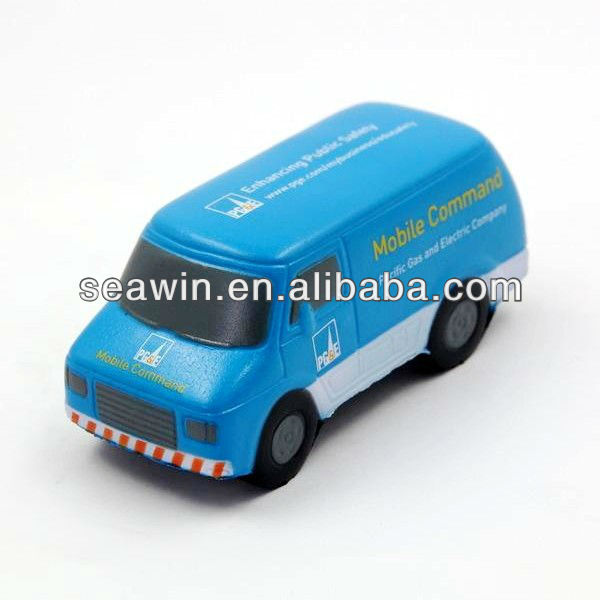 PU cheap stress toy cargo van
