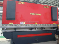 WC67Y-500T/6000 high configuration hydraulic metal bending machine