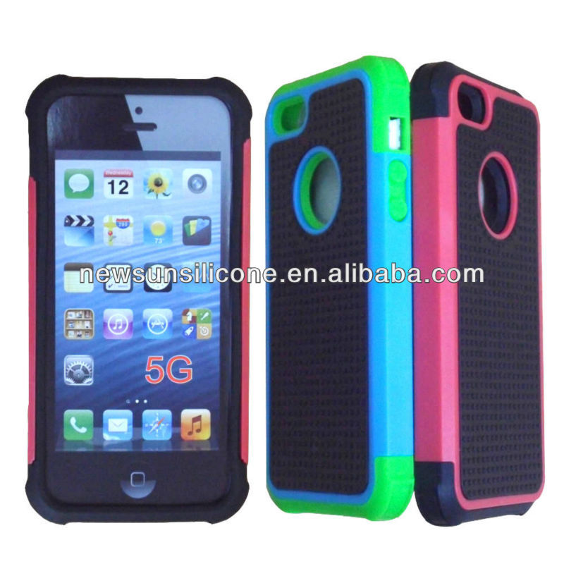 combo case for iphone 5--three layer