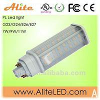 New G24 led light compatible with ballast replace CFL lamp