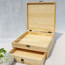 2017 High Quality Office wooden desk drawer Wholesale Cheap Travel storage box wooden desktop organizer