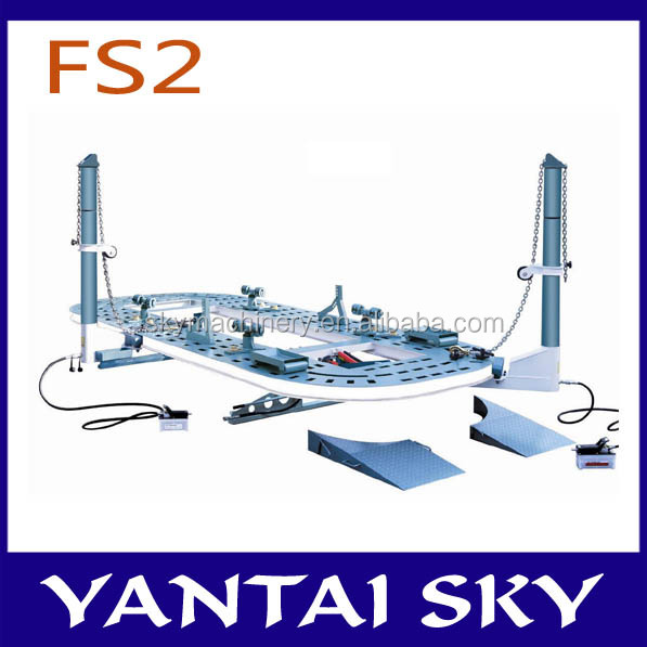 FS2 factory price/Hydraulic system/heavy truck repair equipment/auto body frame machine