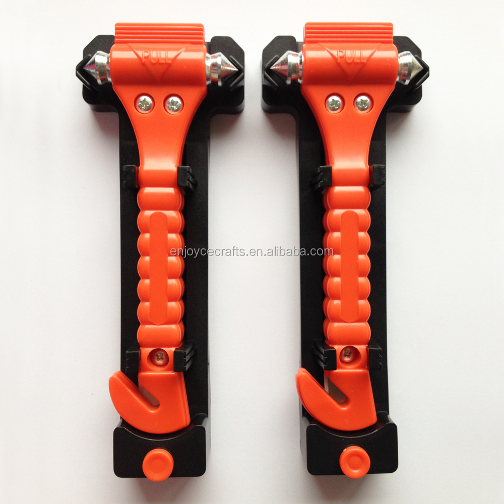 Wholesale 2 in 1 car seat safety belt cutter hammer to break glass