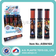Magical kids plastic pirate toy kaleidoscope