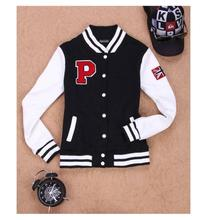Women Men Unisex Spring Autumn Fashion Patchwork Baseball Jacket Print Hoodies Cardigan Sweatshirts 7273