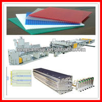 pp pe hollow grid board production line