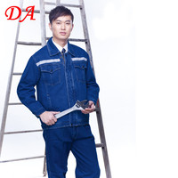 Wholesale winter denim reflective safety jackets for men