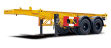 40ft expandable container chassis