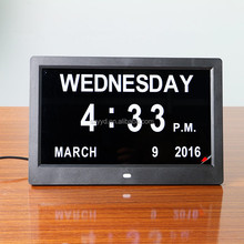 2016 warm hearted directly supply electronic calendar clock with latest popular design