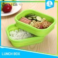 Microware silicone material small kids lunch box