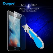 Wholesales price anti-radiation blue ray screen protector tempered glass for iphone 6/6s plus