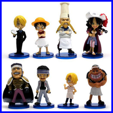 One Piece Anime cartoon Character Toy /plastic toy figures