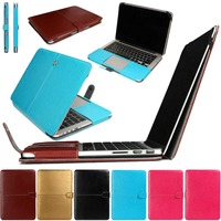 PU Leather Sleeve Case For Macbook Air 11 Air 13 Shell Cover Bag