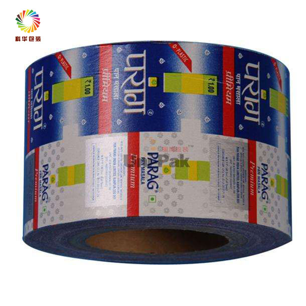 Food grade printed PET/AL/PE OPP/CPP laminated plastic roll film for pasta/biscuit/candy/sugar/snack food package
