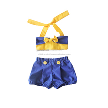 Newborn baby outfit summer swim wear sets baby girl outfits in two pieces