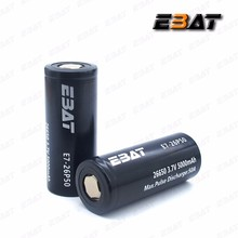 26650 high drain battery ebat ImR26650 5000mah 50A batteries pk se us26650vt 50A battery